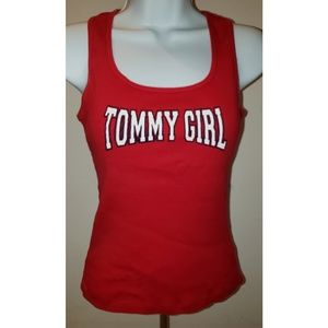 🌼Just In!🌼 Red Tommy Girl Tank! Size S
